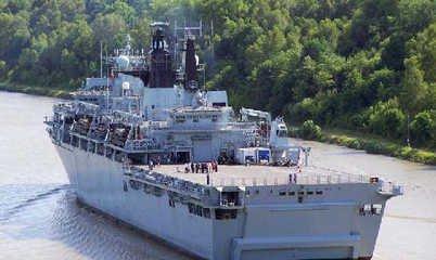 只需7500万还可分期!英国两栖攻击舰抱回家