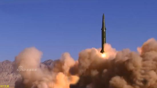 台军方宣称可拦截大陆东风16导弹