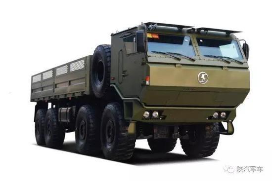 解放军第3代重型越野军卡曝光 造型前卫(图)