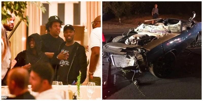 车祸事件后凯文哈特在比佛利山庄首次露面