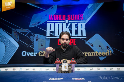 Alexandros Kolonias斩获WSOPE主赛冠军,揽获奖金€1,133,678