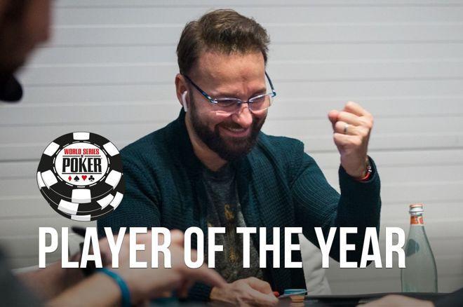 Daniel Negreanu第三次荣获WSOP年度最佳牌手称号!