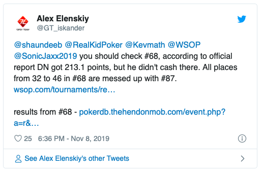 WSOP年度乌龙事件:最佳牌手易主,丹牛白高兴一场