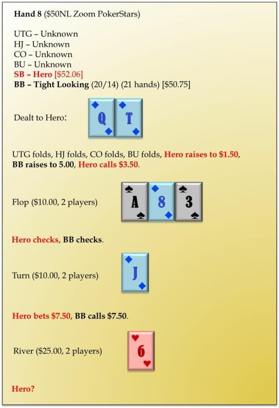 六人桌常规局典型牌例100手-8