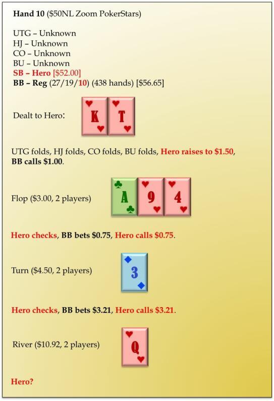 六人桌常规局典型牌例100手-10