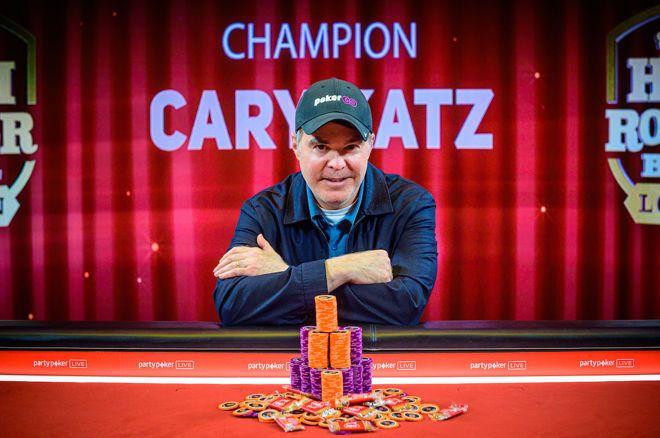迎来职业巅峰时刻,Cary Katz斩获超高额豪客碗伦敦站冠军,揽获奖金210万英镑!