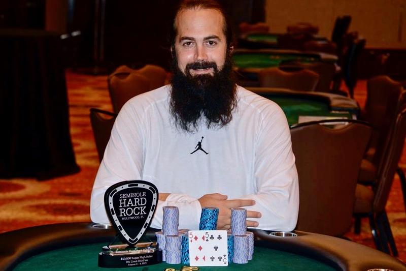 Jason Mercier取得2019赛米尔洛滚石扑克公开赛$50,000豪客赛冠军