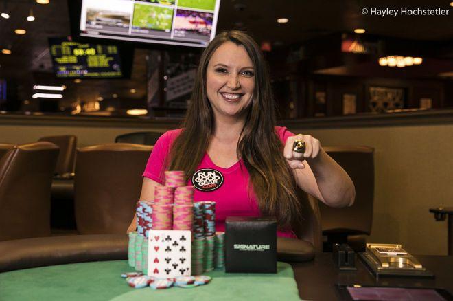 """Tiffany Keathley赢得RGPS丘尼卡""""Game 7"""" 主赛胜利,入账$48,796"""