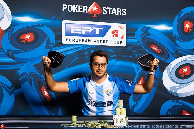 Juan Pardo连赢两场豪客赛,€50,000单日豪客赛获得百万奖金
