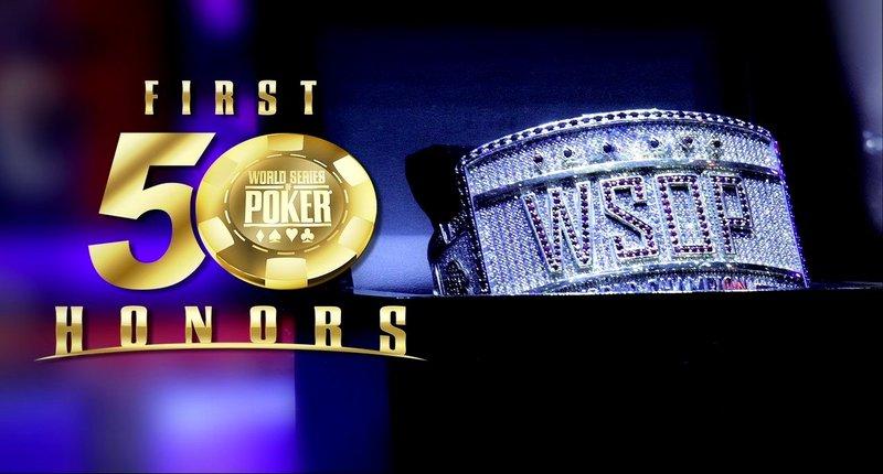 "WSOP宣布将举办""50华诞""荣誉表彰大会"