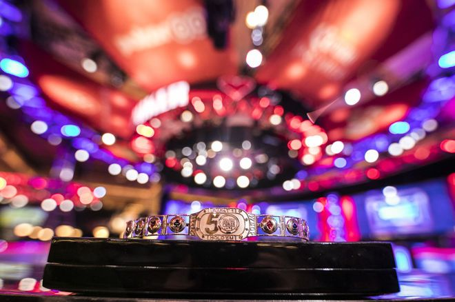 WSOP宣布2019年金手链赛程将增加一场$50k五十周年庆豪客收尾赛